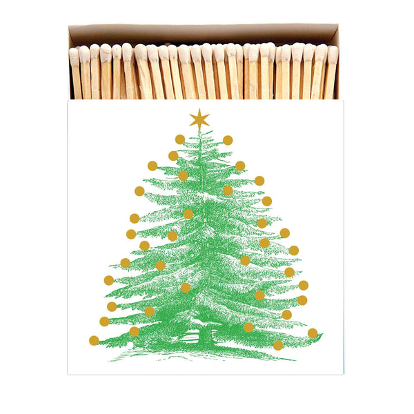 Luxury Oversized Matches ~ Christmas Tree