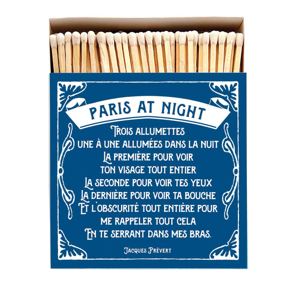 Luxury Oversized Matches ~ Paris at Night