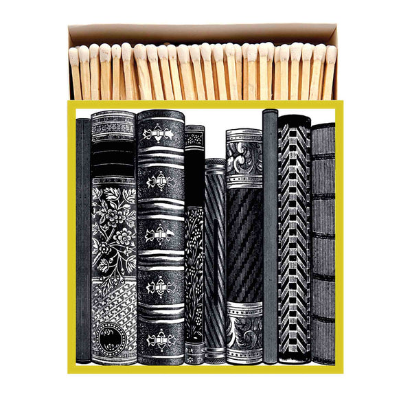 Luxury Oversized Matches ~ Books