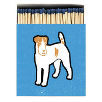 Large Oversized Luxury Safety Matches Dog Design from Wick Candle Boutique