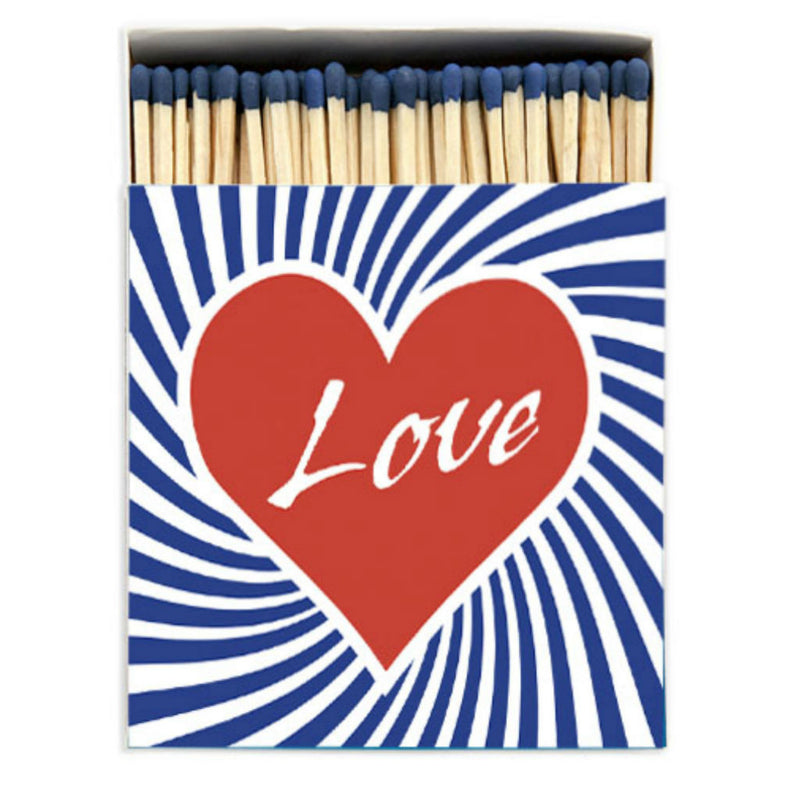 Luxury Oversized Matches ~ Love