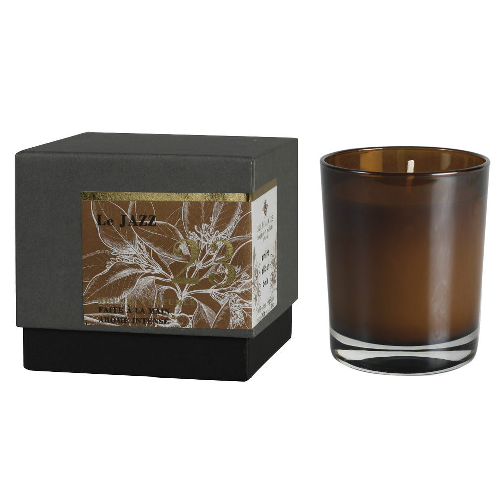 Le Jazz scented candle at Wick Candle Boutique Brighton and Hove