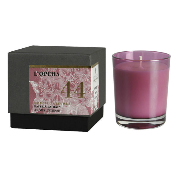 L' Opera - champagne and roses - scented candle at Wick Candle Boutique Brighton & Hove