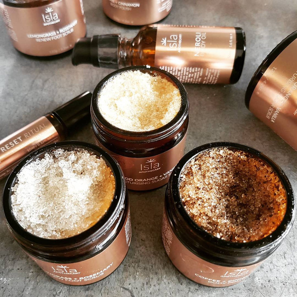 Isla Apothecary ~ Coffee + Cinnamon Body Polish