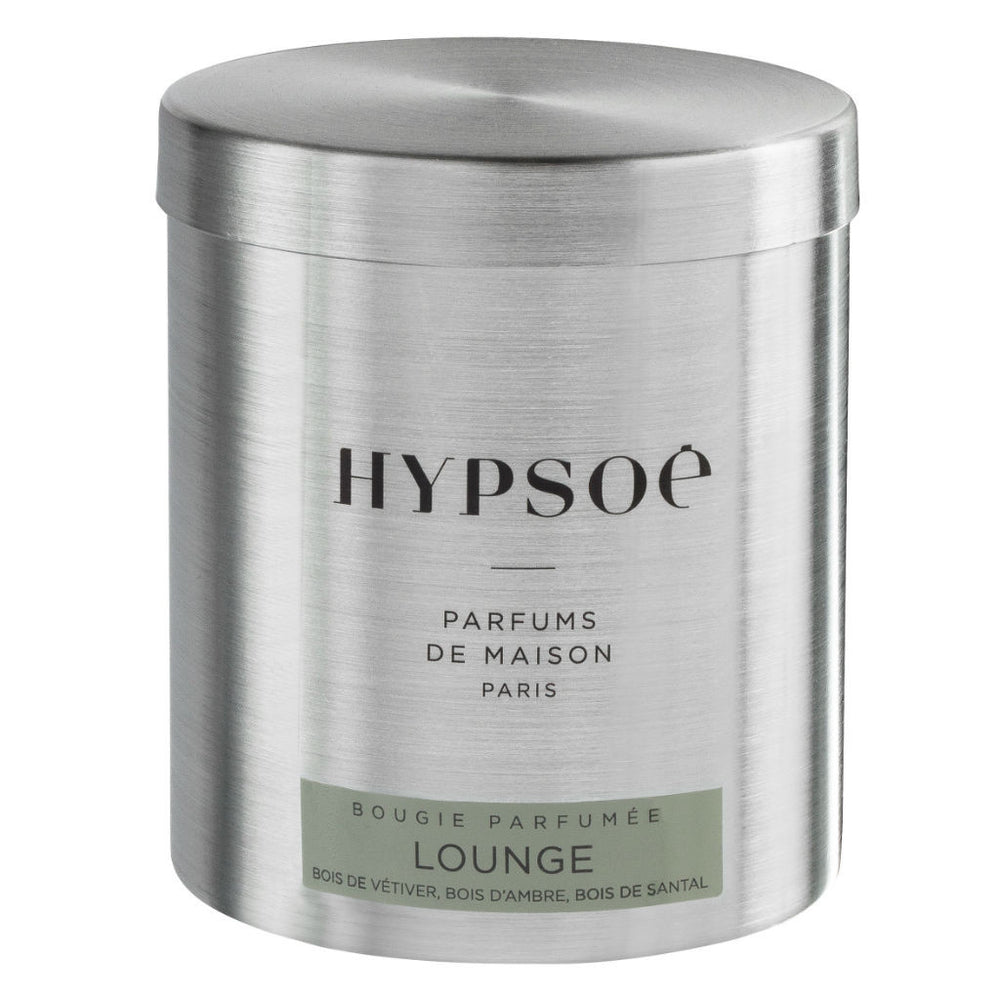 Hypsoé candle ~ Lounge ~ vetiver wood, amber wood, sandal
