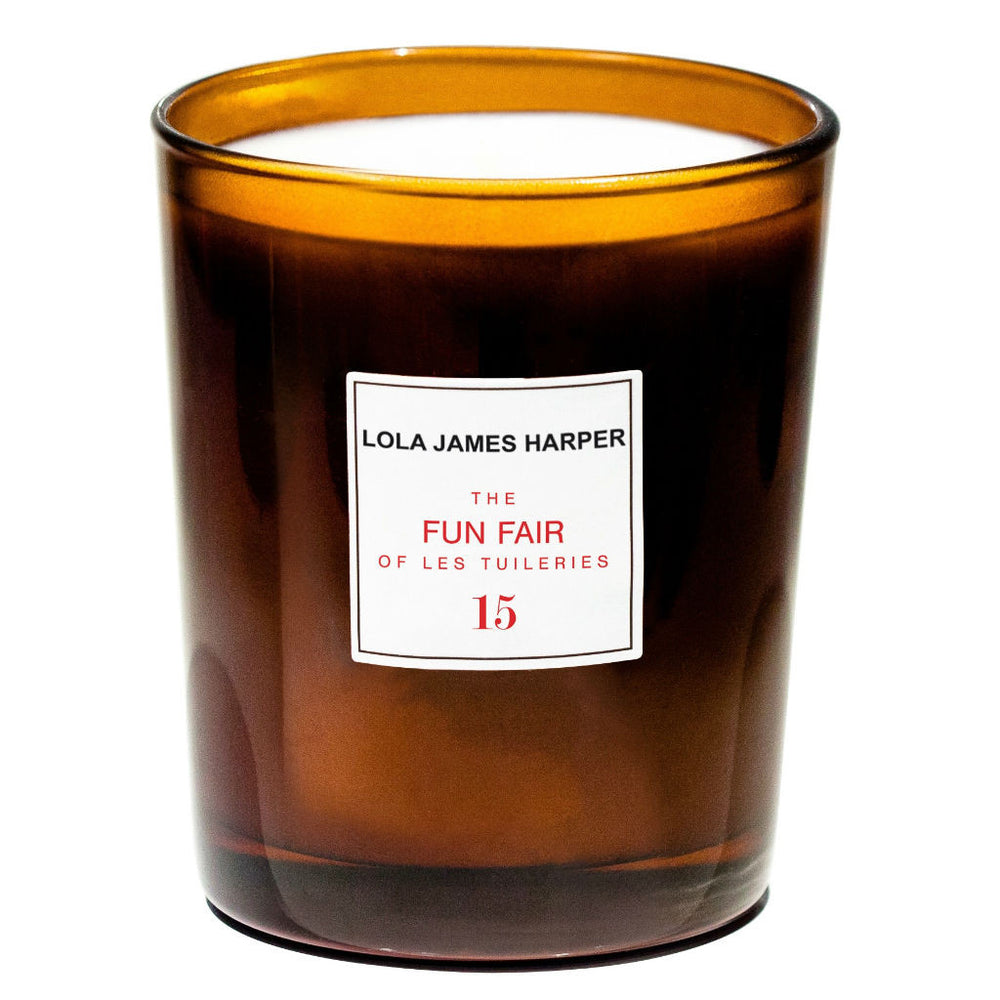 Lola James Harper candle ~ Fun Fair of les Tuileries  #15 ~ fig tree, cotton candy