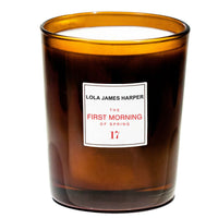 Lola James Harper candle ~ First Morning of Spring #17 ~ rose, cardamom