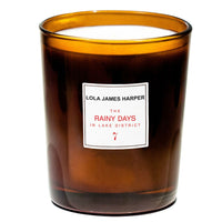 Lola James Harper candle ~ Rainy Days in Lake District #7 ~ myrrh, labdanum, ylang