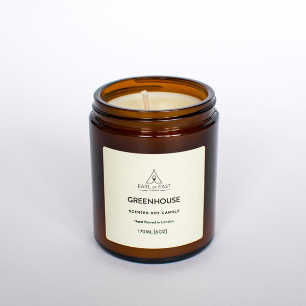 Greenhouse Scented Candle from Earl of East London at Wick Candle Boutique