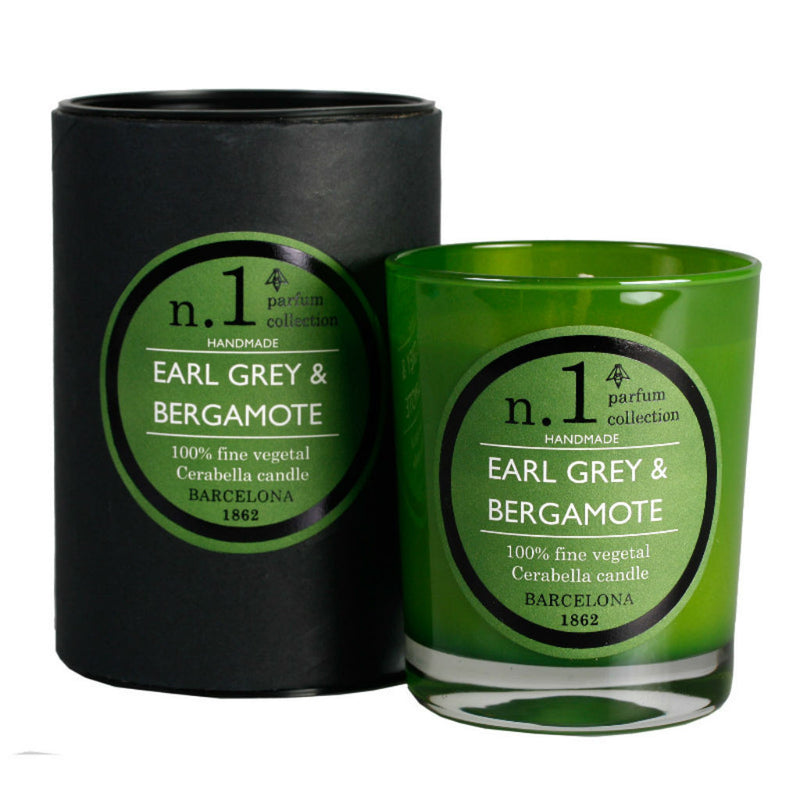 Earl Grey and Bergamot scented candle at Wick Candle Boutique Brighton and Hove