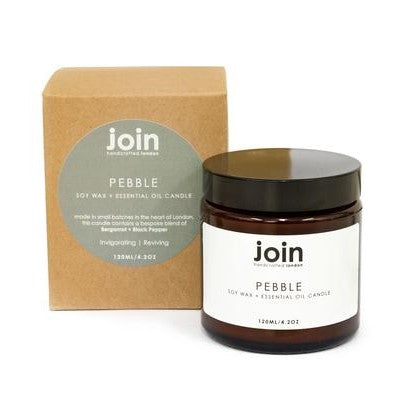 Pebble from Join - bergamot, black pepper
