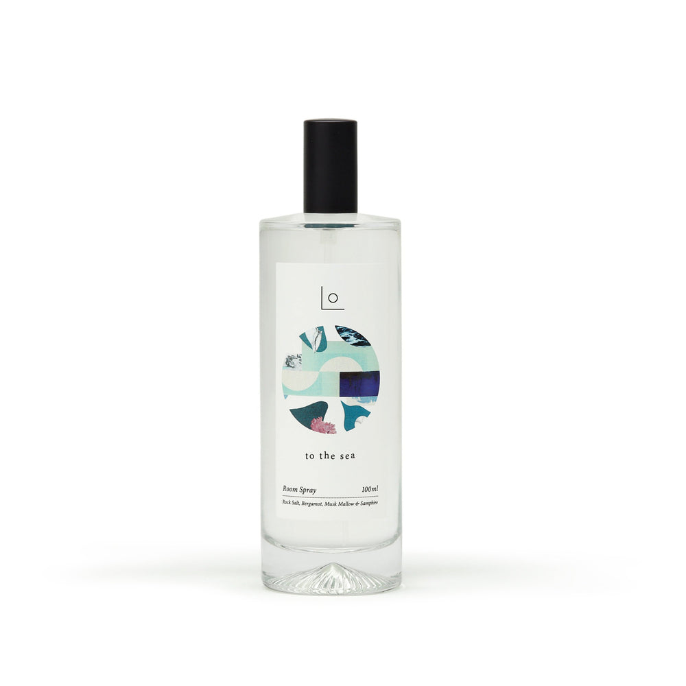 to the sea room spray ~ rock salt, bergamot, musk mallow, samphire