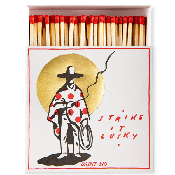 Luxury Oversized Matches ~ Strike It Lucky