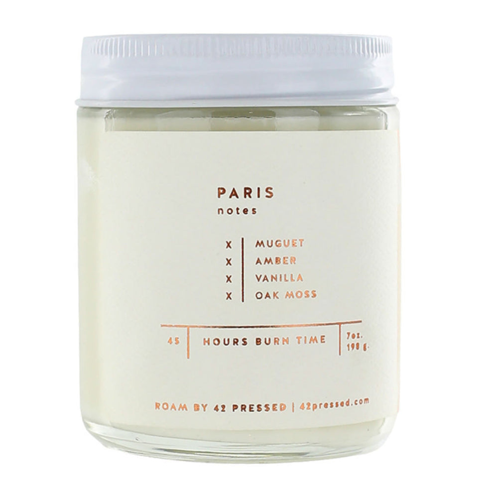 Roam by 42 Pressed ~ Paris ~ muguet, amber, vanilla, oak moss