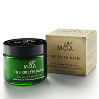 The Green Balm from MOA the Magic Organic Apothecary at Wick Candle Boutique