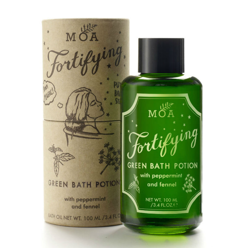 Magic Organic Apothecary - MOA - Fortifying Green Bath Potion from Wick Candle Boutique