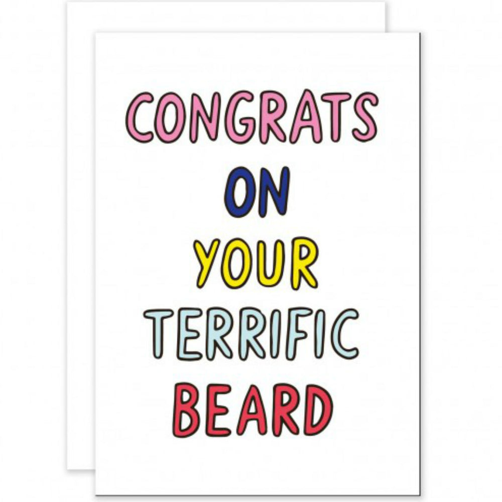 Congrats on Terrific Beard