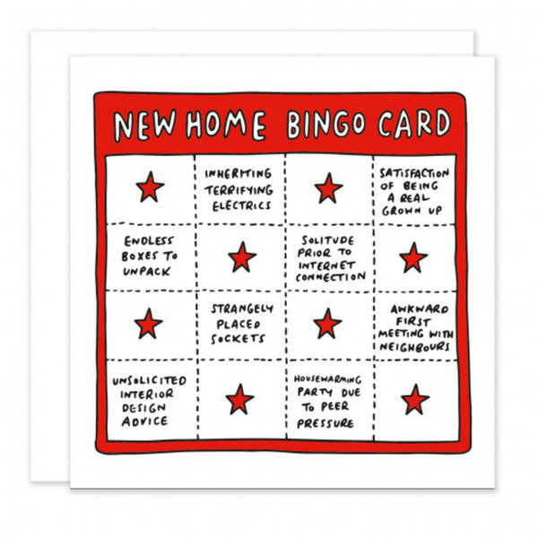 New Home Bingo