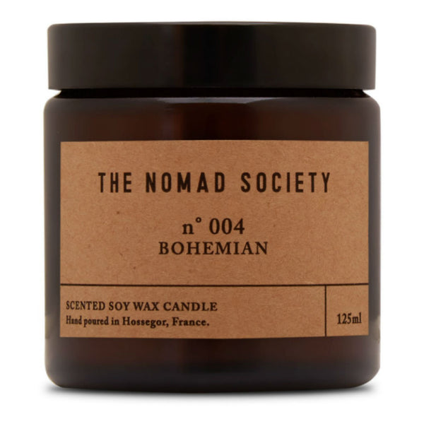 Nomad Society candle ~ Bohemian ~ jasmine, honeysuckle