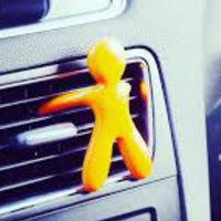 Cesare car air freshener from Mr & Mrs ~ green ~ citrus