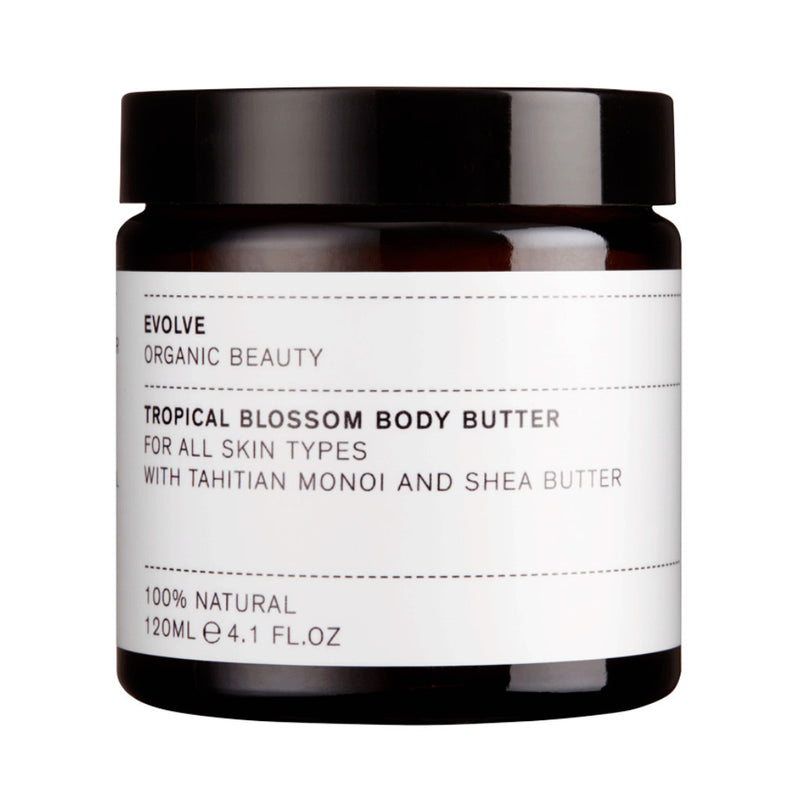 Evolve Organic Beauty Tropical Blossom Body Butter from Wick Candle Boutique