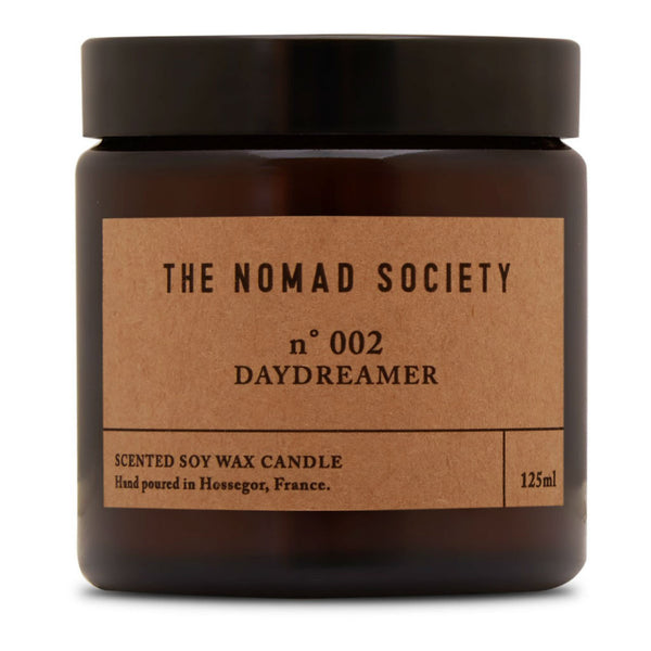 Nomad Society candle ~ Daydreamer ~ buttery coconut