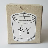 Baileys ~ Fig candle