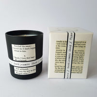 Illumens candle ~ Gentlemans Shed ~ grass, wood