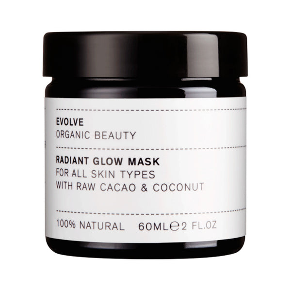 Evolve Organic Beauty Radiant Glow Organic Face Mask at Wick Candle Boutique