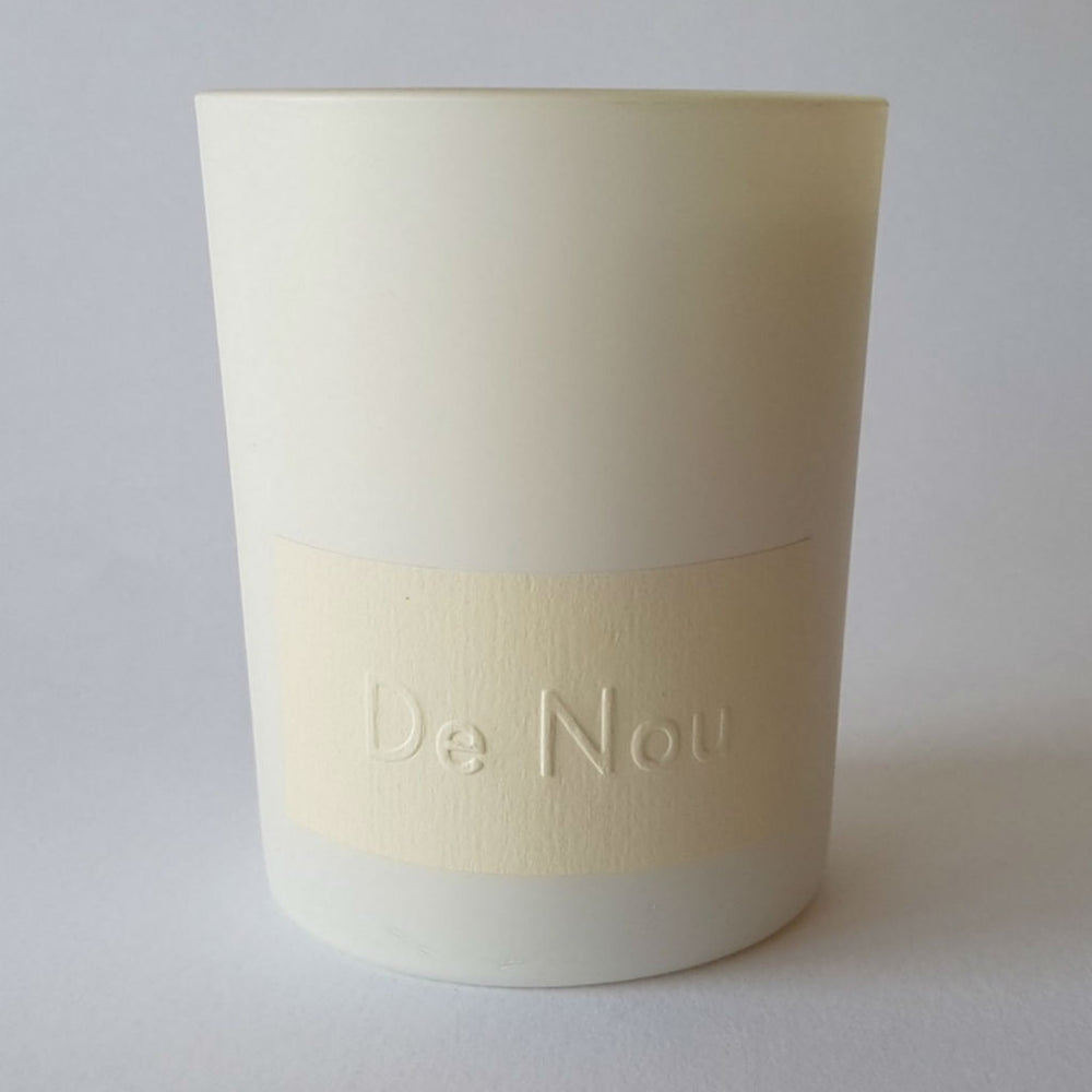Smoky Jasmine Scented Candle from De Nou at Wick Candle Boutique Brighton & Hove