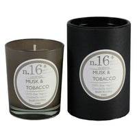 Musk and Tobacco scented candle at Wick Candle Boutique Brighton and Hove