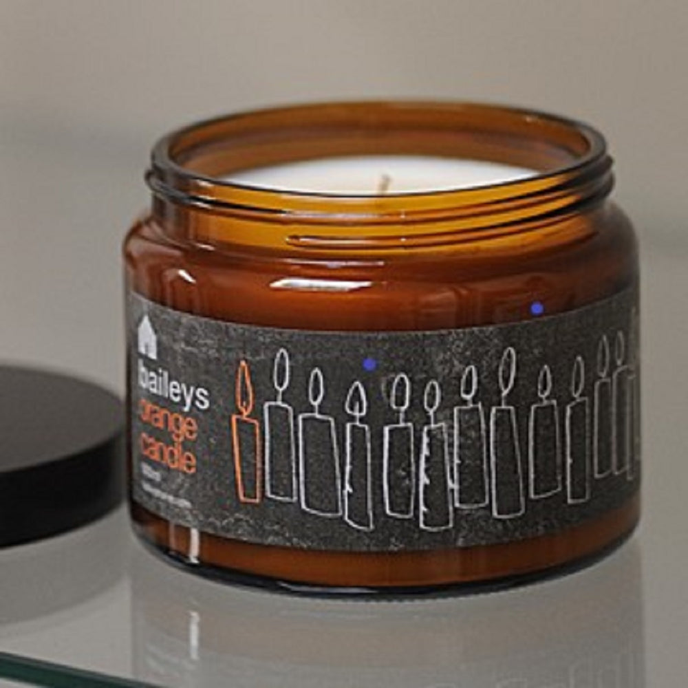 Orange Jar Candle from Baileys