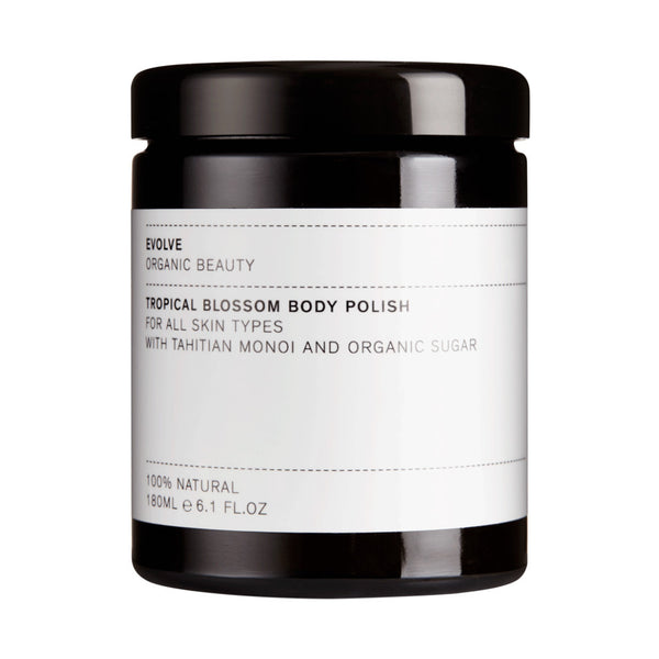 Evolve Organic Beauty Tropical Blossom Body Polish from Wick Candle Boutique