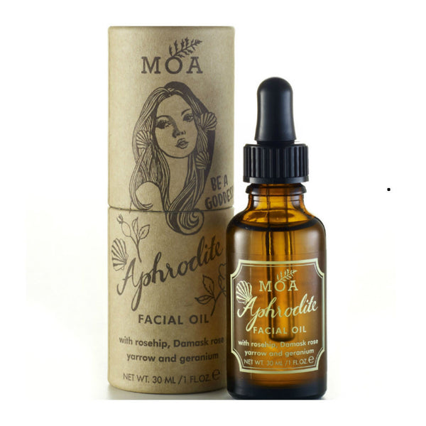 Magic Organic Apothecary, MOA, Aphrodite Facial Oil at Wick Candle Boutique