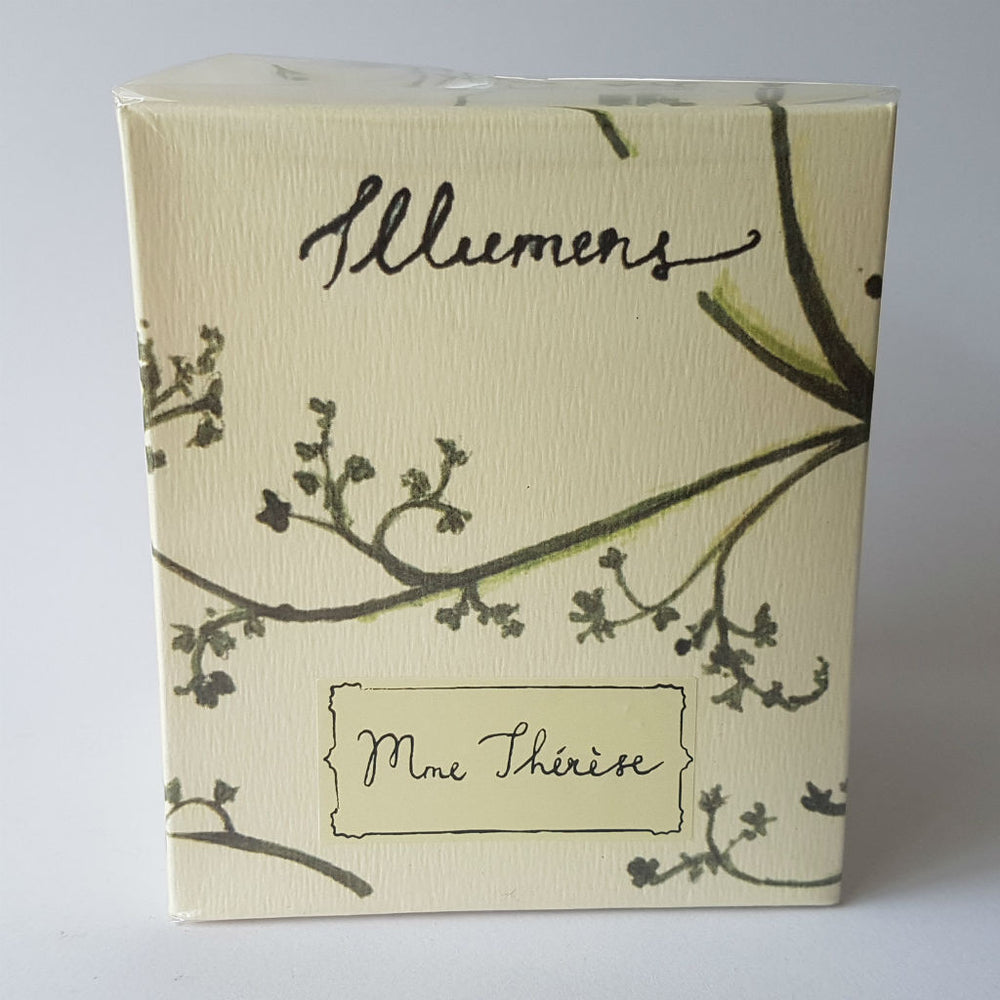 Illumens candle ~ Mme Therese ~ lily, narcissus, gardenia