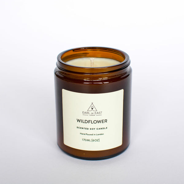 Wild Flower Scented Candle from Earl of East London at Wick Candle Boutique