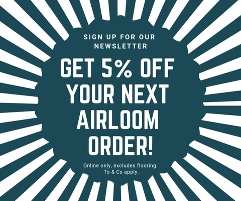 Need another reason to sign up for Airloom's newsletter?