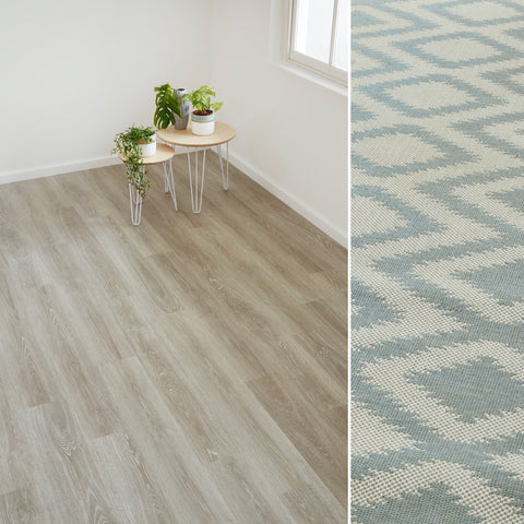 Match-make your new floor with the perfect rug