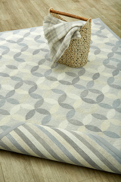 2-in-1 Cotton Flatweave Rugs