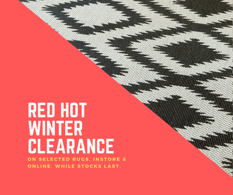 Winter Rug Clearance Craziness