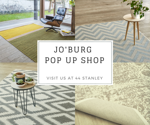 Jo'burg, we're back... come visit our new Pop-up Shop!