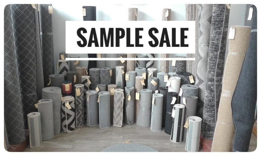 Runners & mats from R100... it's the Palms Sample Sale!