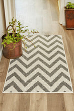 Chevron Silver-rugs-Airloom