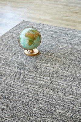 Chinese Fan Taupe-rugs-Airloom