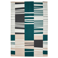 Cool Bauhaus Slant Tea Towel-Decor-Airloom