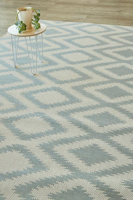 Diamond Silvermint Rug (new stock)-rugs-Airloom