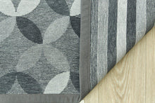 Grey Urban Bloom-rugs-Airloom