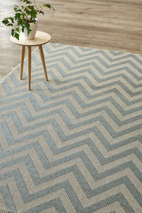 Herringbone Silvermint Rug (new stock)-rugs-Airloom