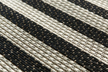 Jailbird Black Runner (new stock)-rugs-Airloom