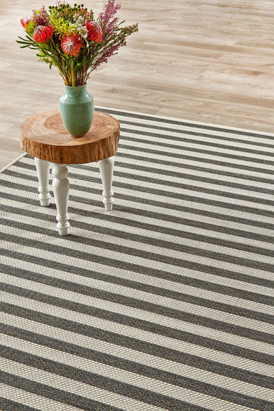 Jailbird Grey Rug (new stock)-rugs-Airloom
